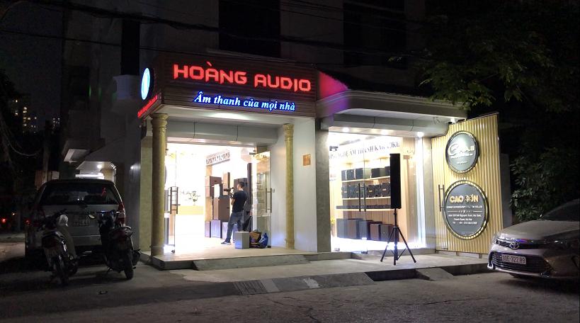 Hoàng Audio Khuyến mãi giờ vàng, sập sàn Khai Trương