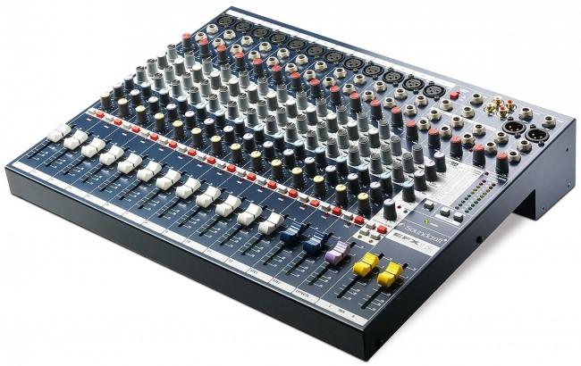 Mixer Sound Craft EFX 12 cho dàn âm thanh xem phim chuyên nghiệp