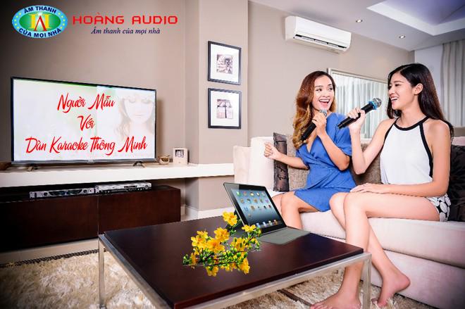 Dàn karaoke thông minh đỉnh cao của công nghệ tiện ích.