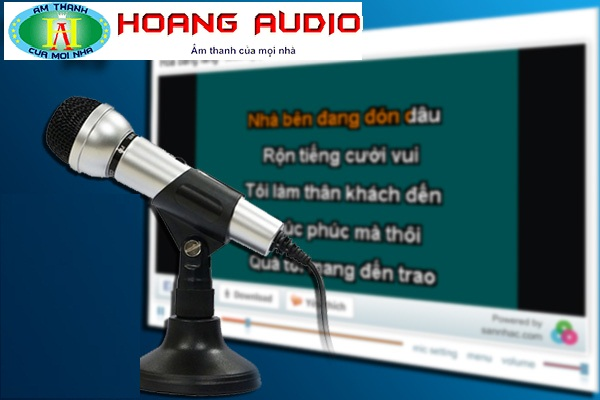 Ứng dụng công nghệ cho dàn karaoke online tại gia đình
