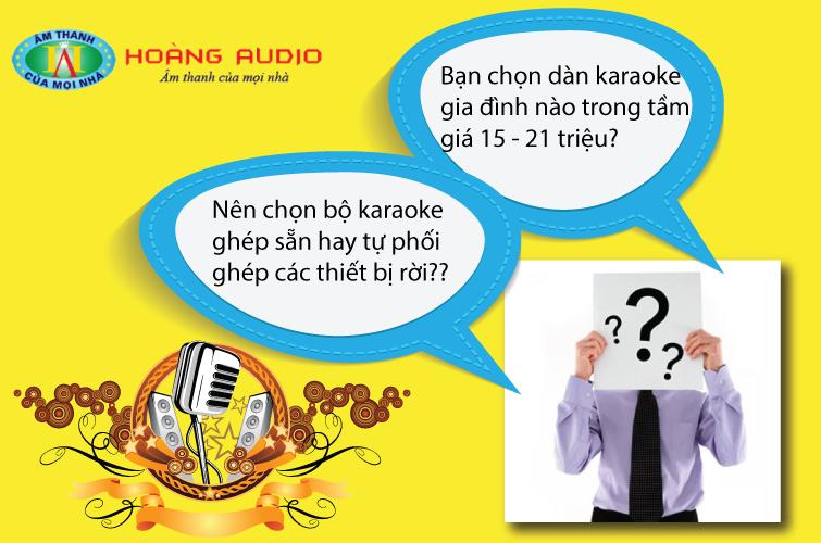 Kinh nghiệm nên biết khi mua dàn âm thanh karaoke cho gia đình