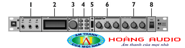 Hướng dẫn sử dụng và điều chỉnh JBL KX100 trực tiếp trên thiết bị