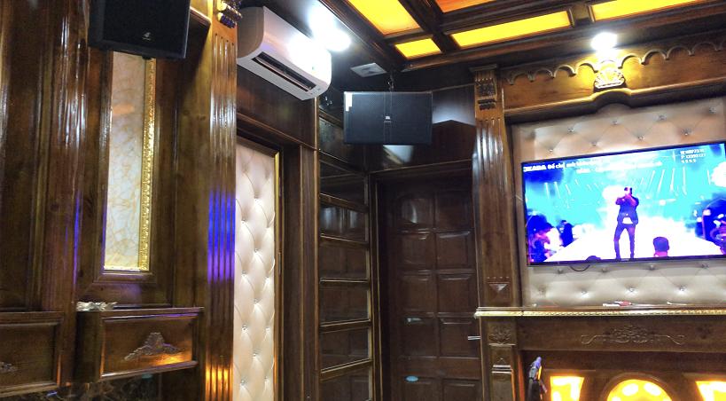 Dàn âm thanh karaoke kinh doanh phòng nhỏ dưới 15 m2