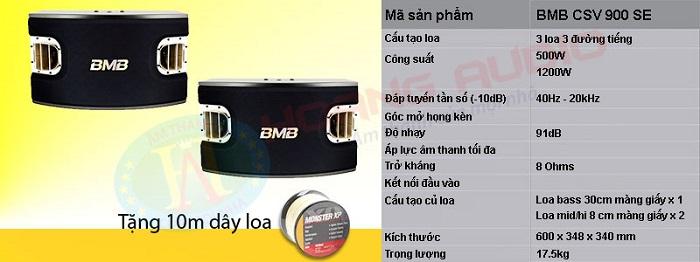 Loa BMB cao cấp gía rẻ thông tin 9 dòng loa karaoke chính hãng