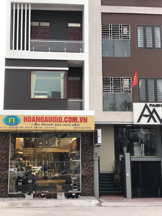 Showroom Hoàng Audio mở chi nhánh tại Quảng ninh