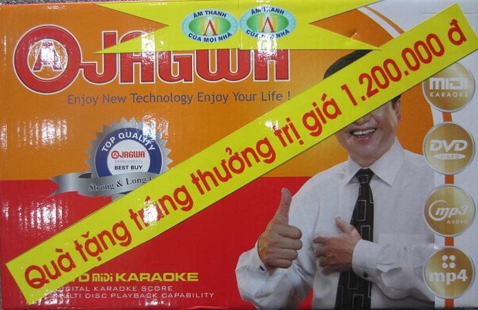 Vào ngày thứ tư hàng tuần trong tháng khuyến mại sẽ có 10 chiếc đầu karaoke vi tính 6 số trị giá 1.200.000đồng sẽ được bốc thăm trúng thưởng cho 10 khách hàng đầu tiên. ngày trao giải diễn ra vào ngày 23 tháng 01 năm 2014 tức vào ngày 23 tết.
