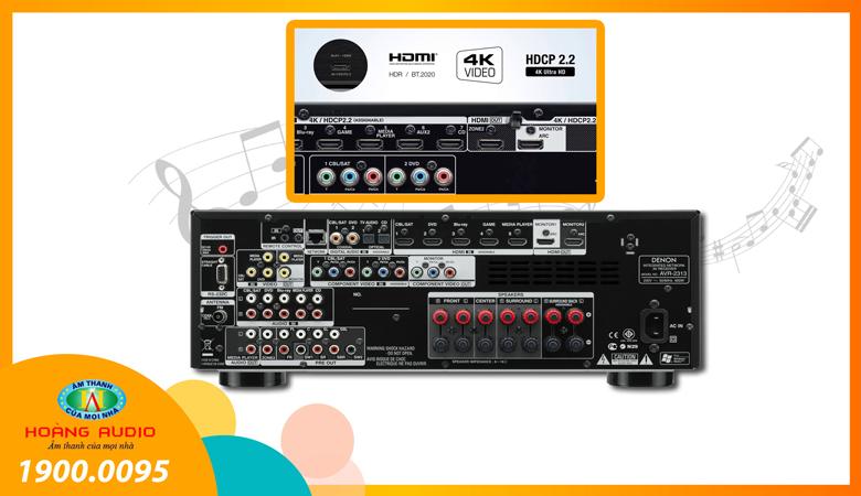 Amply Denon AVR2313 - 1