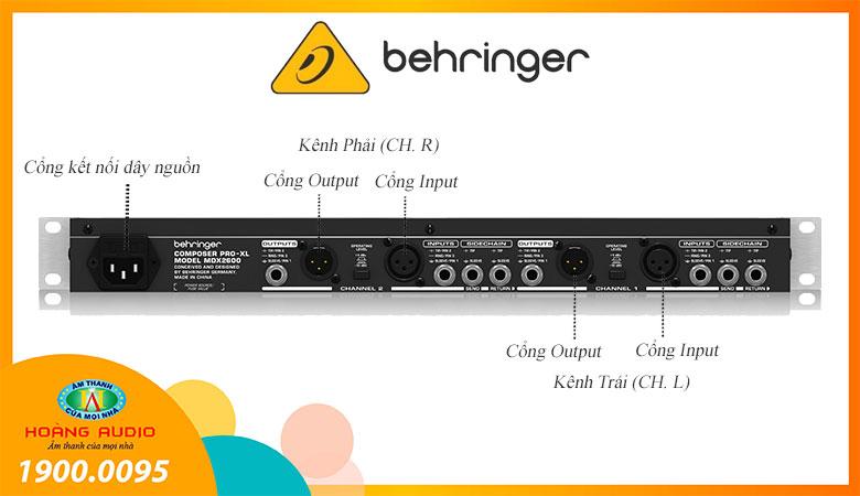 Behringer Composer Pro-XL MDX2600-2