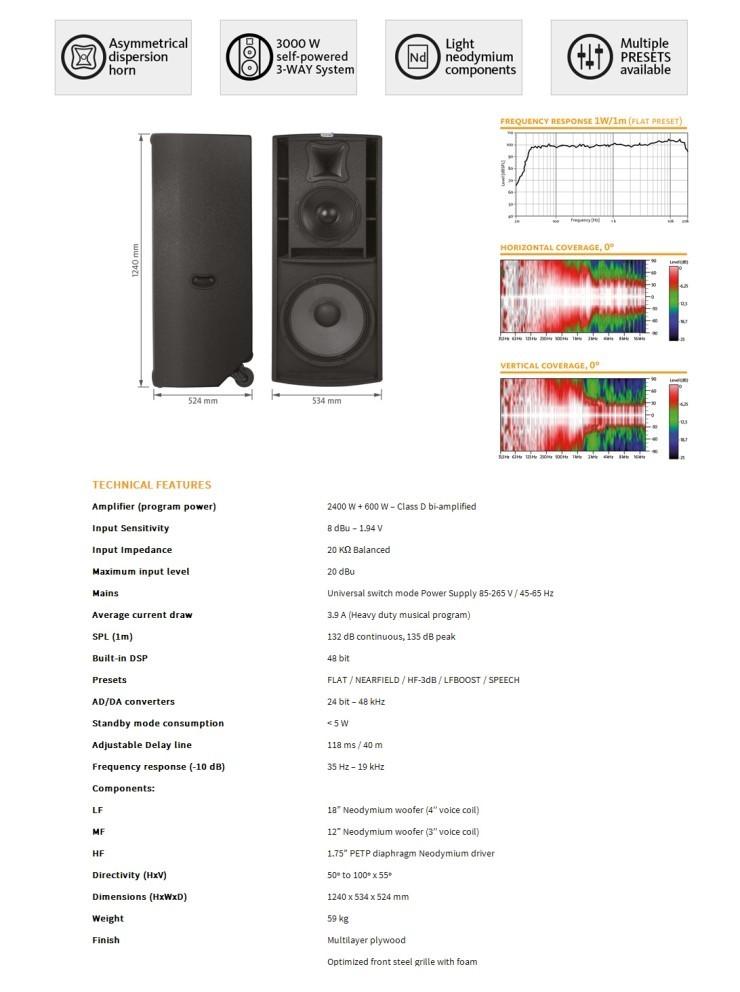 Loa Master Audio K318A - 2