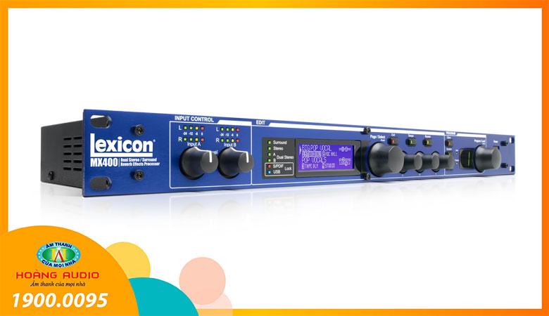 Bộ xử lý âm thanh Lexicon MX400 - 2