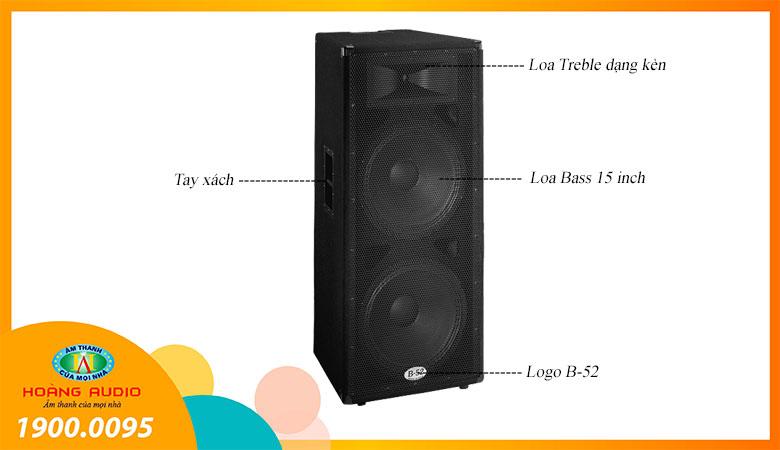 Loa B52 MX1515