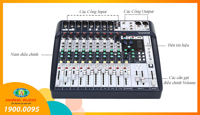 Mixer Soundcraft Signature 12 - 1