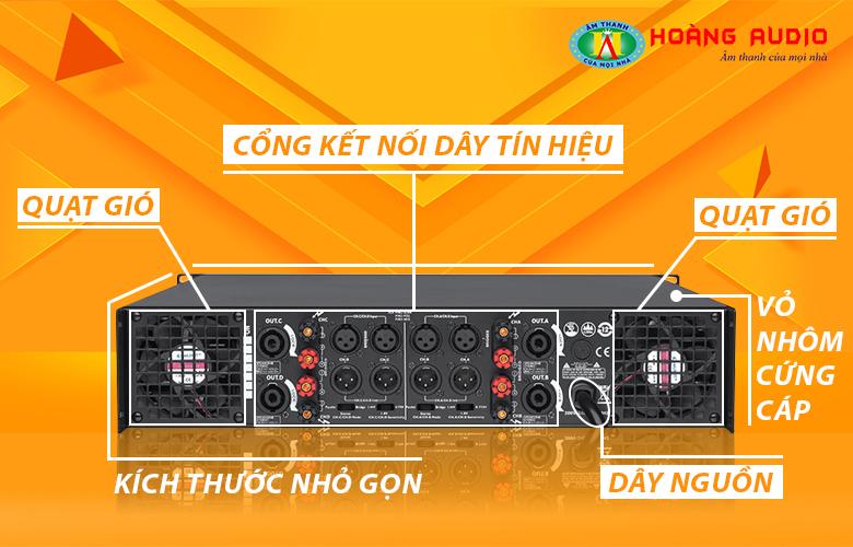 Cục đẩy công suất HAS VX4800-2
