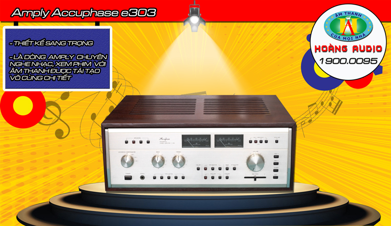 Amply-Accuphase-e303