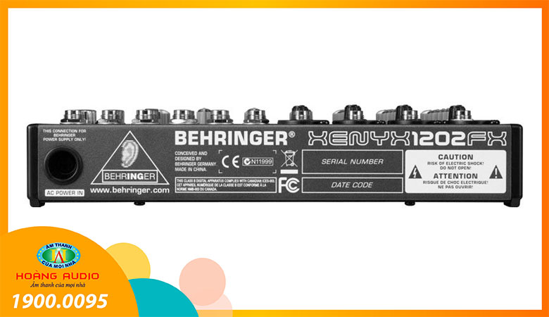 Mixer Behringer 1202FX - 2