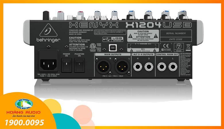Mixer Behringer X-1204 USB - 2