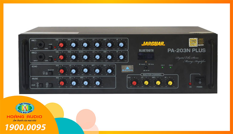 Amply Jarguar PA 203N Plus Bluetooth