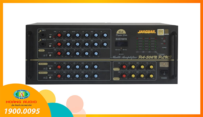 Amply karaoke Jarguar PA 506N Plus Bluetooth