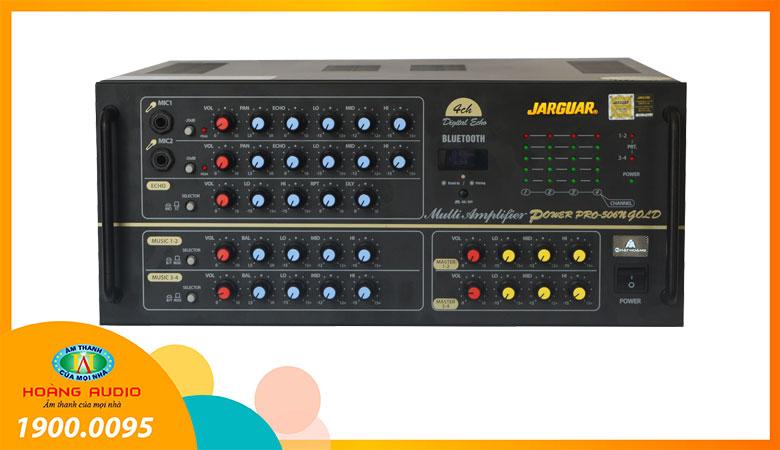Amply karaoke Jarguar PA 506N Gold Bluetooth