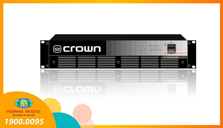 Cục đẩy công suất Crown CSL 800