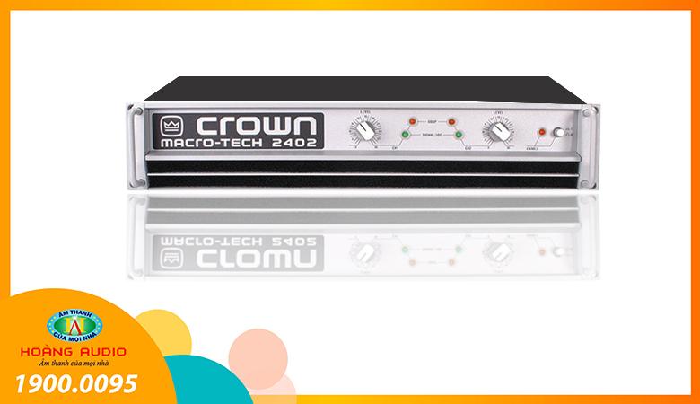 Cục đẩy công suất Crown 2402
