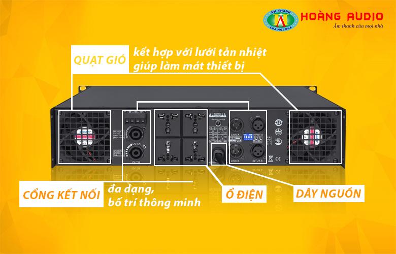 Cục đẩy công suất HAS VX2300-2