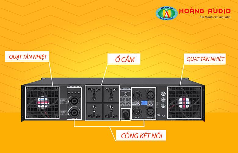 Cục đẩy công suất HAS VX2500-2