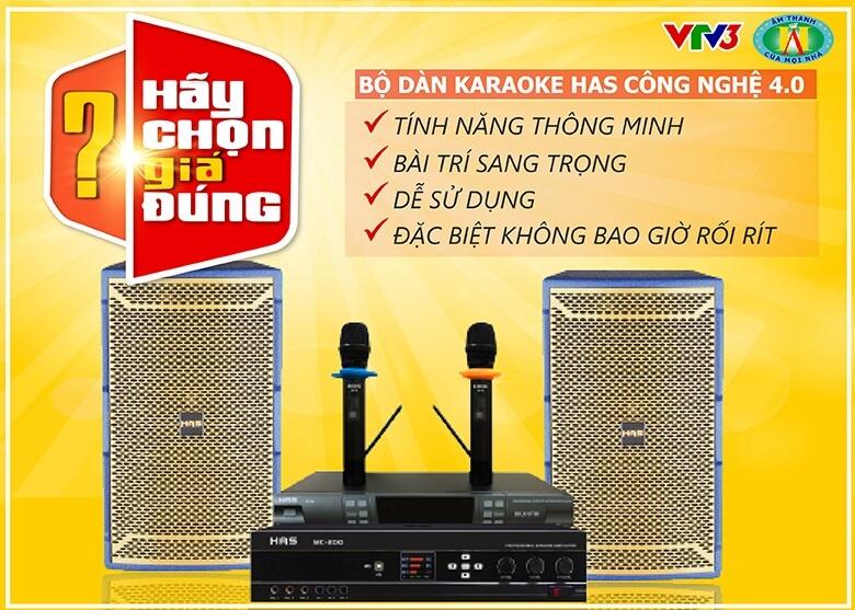 dàn karaoke hãy chọn gia đúng