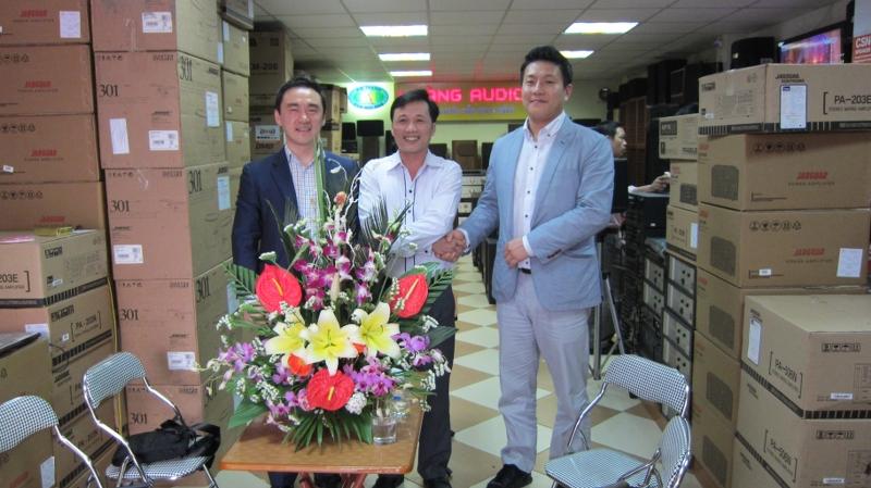 Hoàng Audio gặp gỡ doanh nghiệp Hàn Quốc