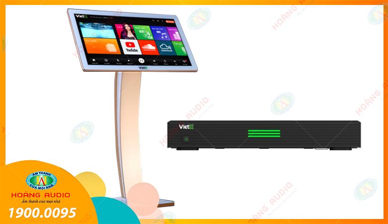 Bộ đầu màn cảm ứng VietK 4k Plus 6TB + 22inch