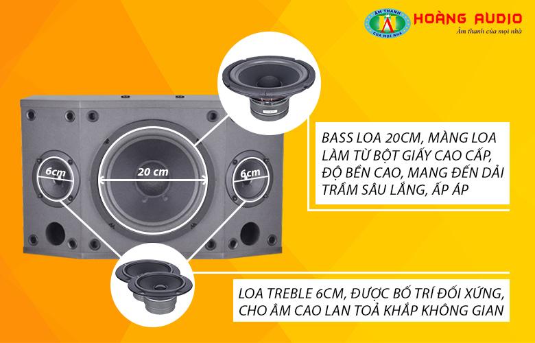 Loa Karaoke HAS 308HD-3