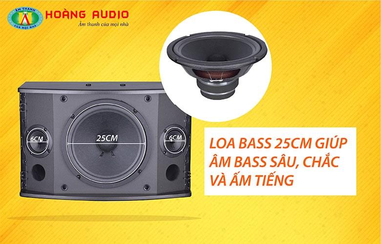 Loa Bass 25cm của loa HAS 312E