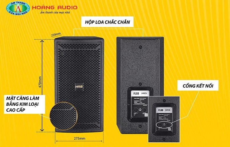 Loa karaoke HAS FL08-1