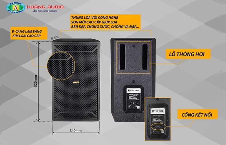 Loa karaoke HAS FL110-2