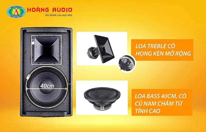 Loa karaoke HAS FL115-3