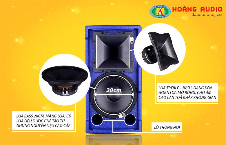 Loa karaoke HAS FP08-3
