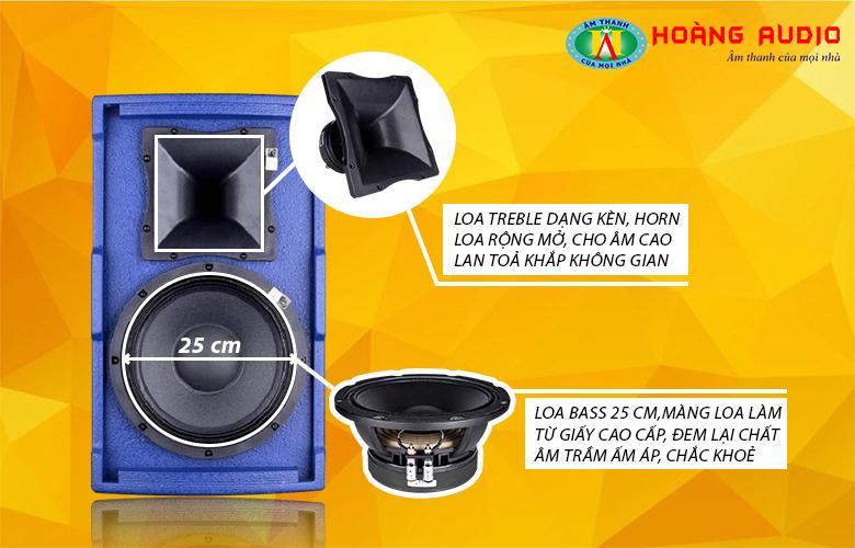 Loa karaoke HAS FP110-3