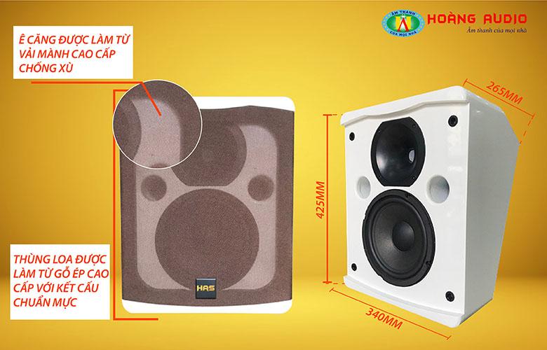 Loa karaoke HAS HK 108-2