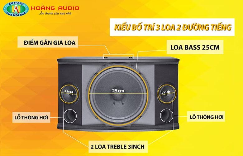Loa karaoke HAS KF310-5