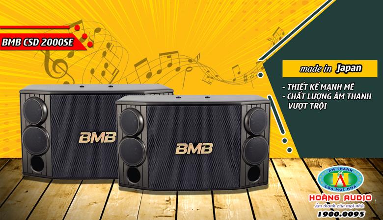 Loa BMB 200SE chính hãng nhập khẩu Minh Tuấn giá rẻ nhất tại Hà Nội.