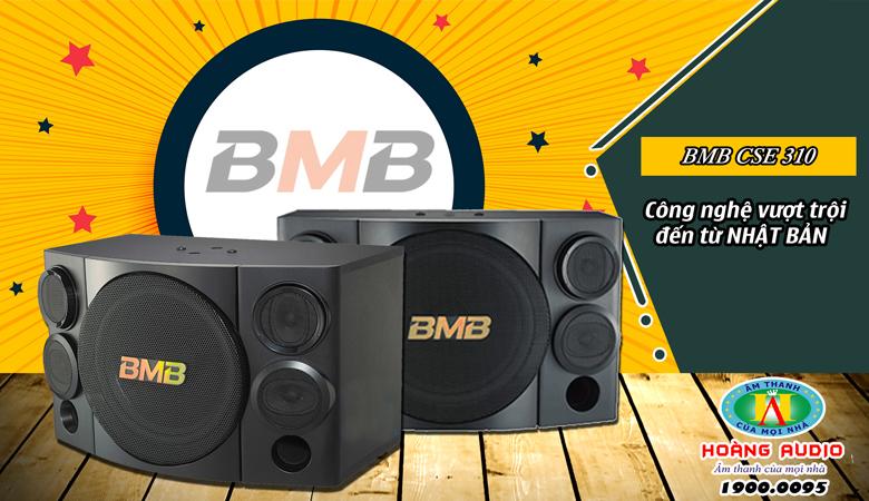 Loa BMBCSE 310SE Minh Tuấn một trong những sản phẩm bán chạy cho karaokegia đình