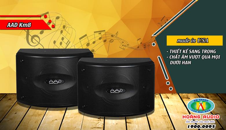 Loa-Karaoke-AAD-Km8