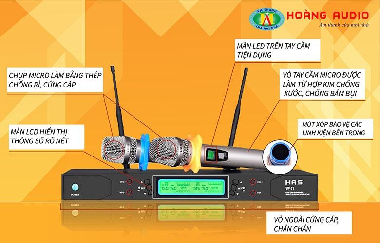 Micro karaoke HAS VP17