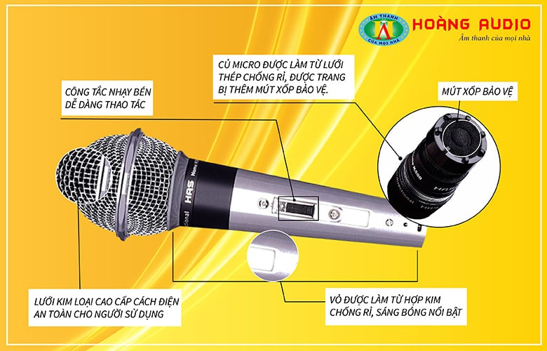 Micro karaoke HAS K500
