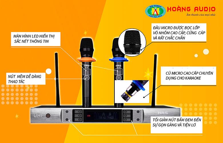 Đặc điểm Micro không dây HAS VP14S
