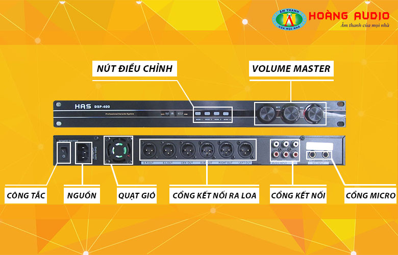 mixer HAS DSP400-1