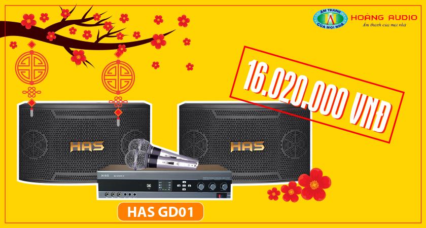 dàn karaoke HAS GD01