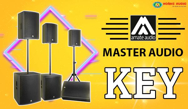 Giới thiệu dòng loa Key Series đến từ Master Audio