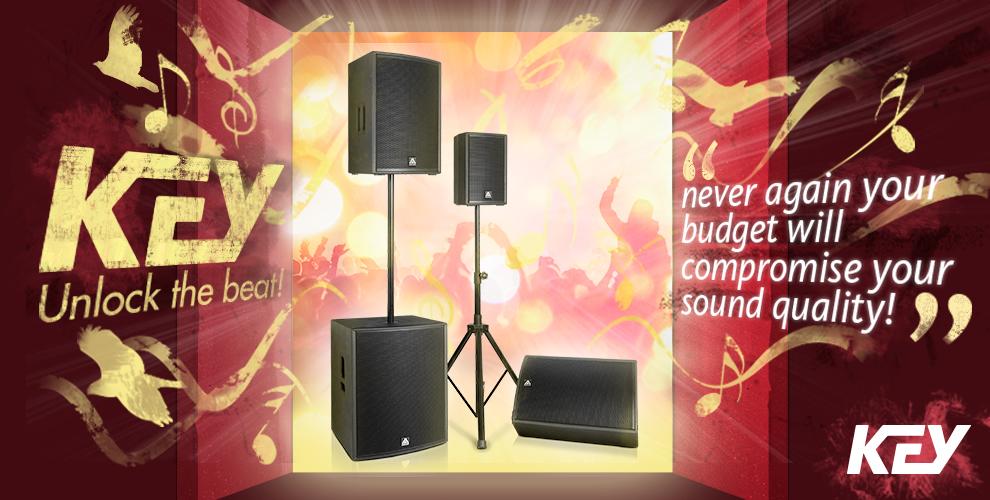 Giới thiệu dòng loa Key Master Audio đang được phân phối tại Hoàng Audio