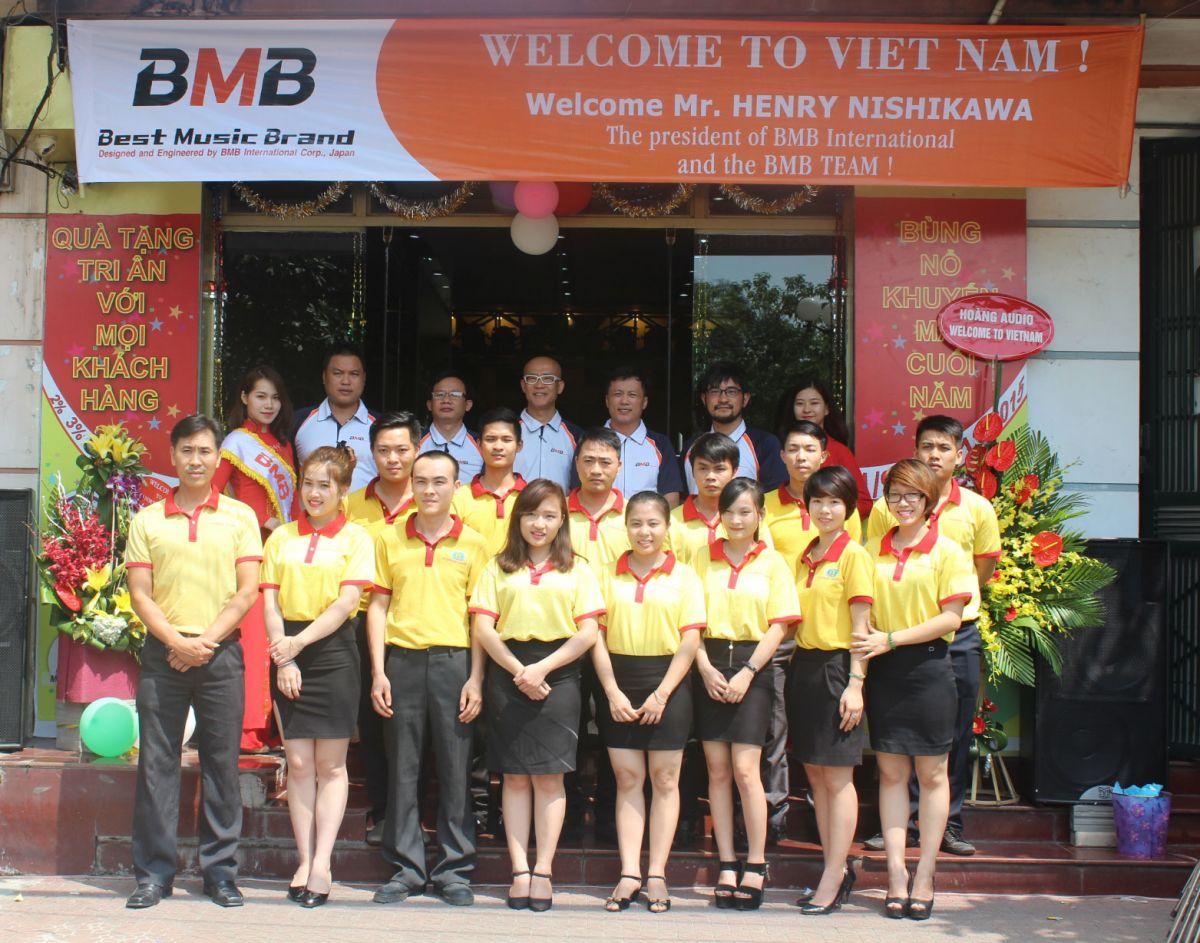 BMB - Hoàng Audio luôn đồng hành trong suốt chặng đường dài